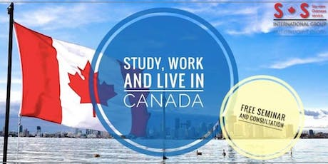 Study and Work, Pathway to Permanent Residency in Canada tickets