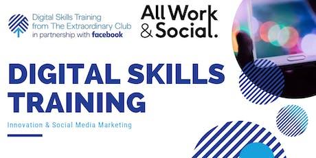 Facebook Digital Skills Training tickets