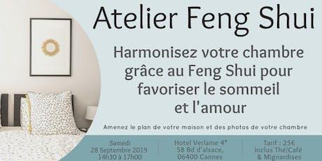 Atelier Feng Shui : Harmonisez votre chambre pour favoriser Sommeil & Amour billets