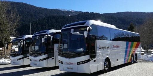 Luxury Coach from Lancaster & Preston to the Manchester EUPHORIA