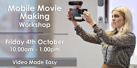 Mobile Movie Making Workshop tickets