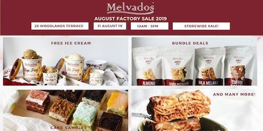 August Food Sampling & Factory Sale