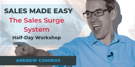 SALES MADE EASY - The Sales Surge System | 1/2 Day GOLD COAST tickets