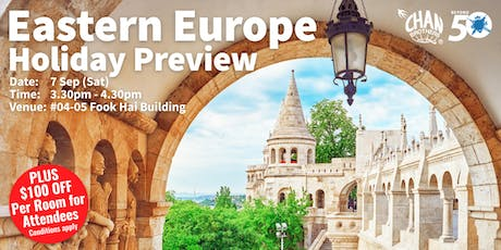 Eastern Europe Holiday Preview  tickets