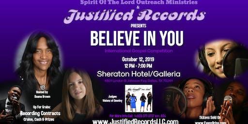 Believe In You International Gospel Competition