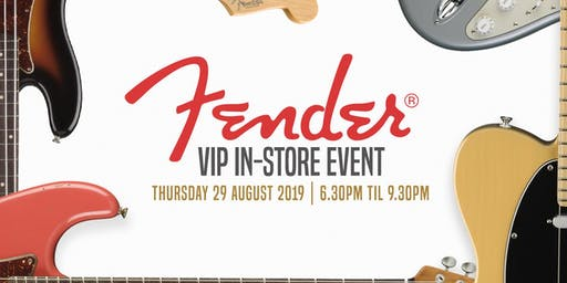 Fender VIP In-Store Event