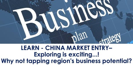 EXPLORING CHINA MARKET WITH NEW MARKETING STRATEGY tickets