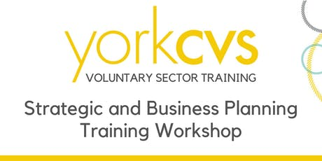 Strategic and Business Planning Training Workshop tickets