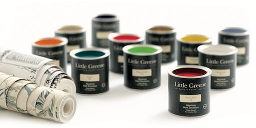 Little Greene Colour Workshops at Dawson's Decorating Centre, Selby