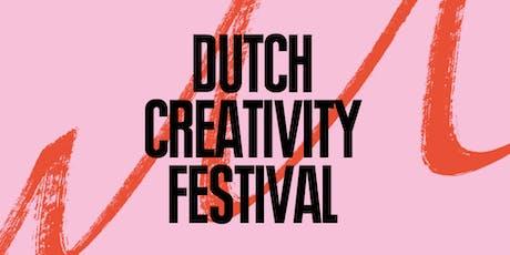 Dutch Creativity Festival 2019 Tickets