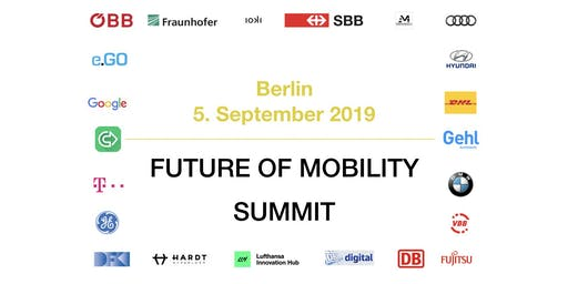 Future Mobility Summit 2019