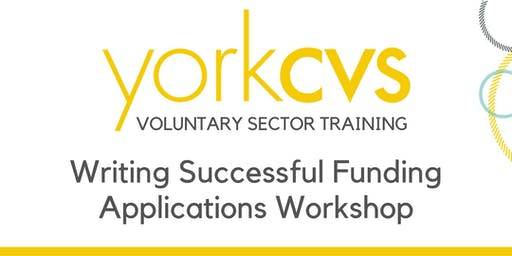 Writing Successful Funding Applications Workshop