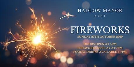 Firework Night 2019 tickets