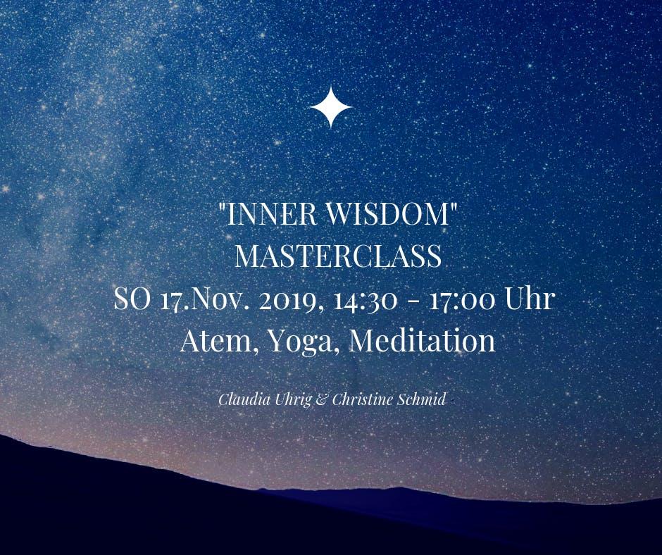 Inner Wisdom Masterclass mit Claudia Uhrig & Christine Schmid