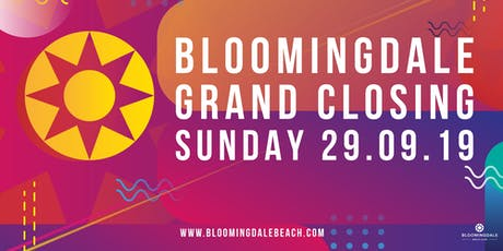 Bloomingdale Grand Closing 2019 tickets