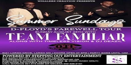 Summer Sundays tickets