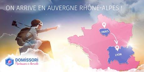 Domissori arrive en Auvergne Rhône-Alpes ! billets