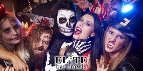 OFFICIAL HALLOWEEN BAR CRAWL   NEW HAVEN, CT tickets