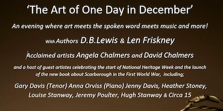 One Day in December - Book Launch, Art and Musical Extravaganza! tickets