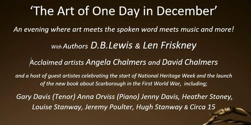 One Day in December - Book Launch, Art and Musical Extravaganza!