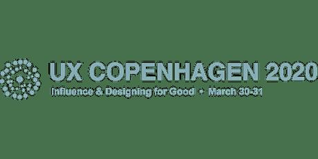UX Copenhagen 2020 tickets