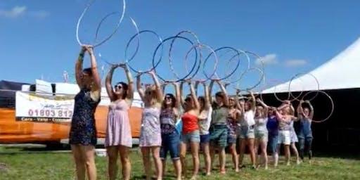 Try Hula Hooping!