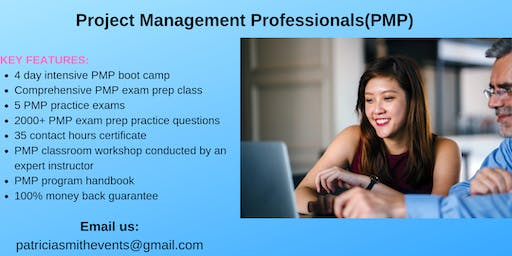 PMP Training Course in Lebanon, NH