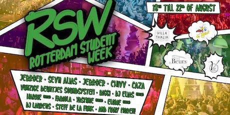 Rotterdam Student Week 2019 tickets