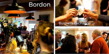 The Bordon Business Exchange tickets
