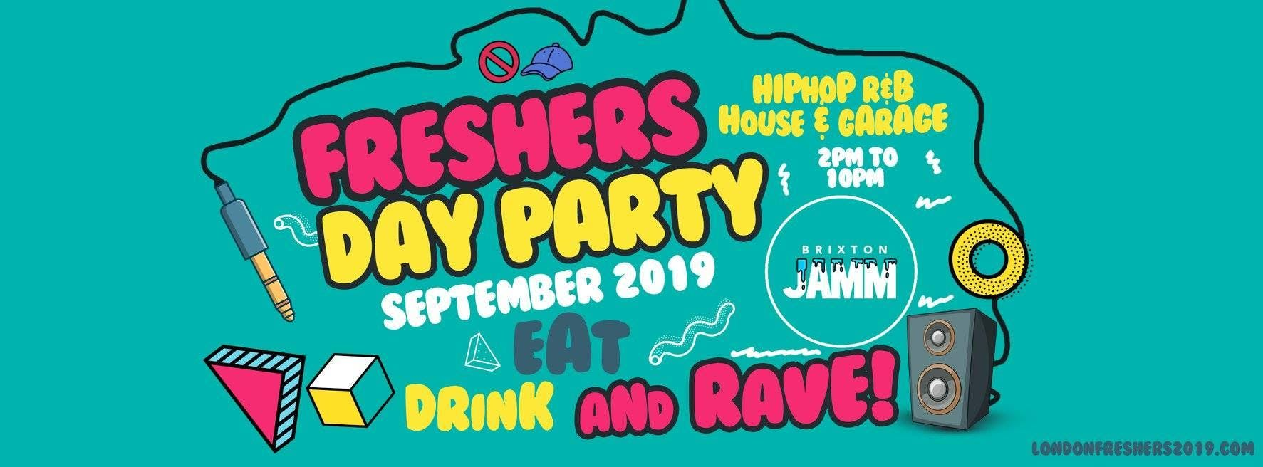 The London Freshers  Day Party 2019