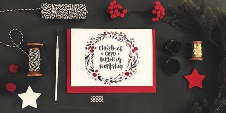 Brush letter festive cards with Jen Roffe tickets