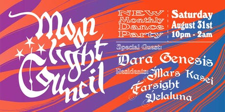 Moonlight Council - Dara Genesis, Mars Kasei, Farsight, Velaluna tickets