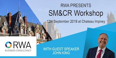 RWA SM&CR Workshop tickets