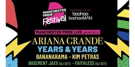 Manchester Pride tickets