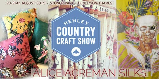Alice Acreman Silks at Henley Country Craft Show