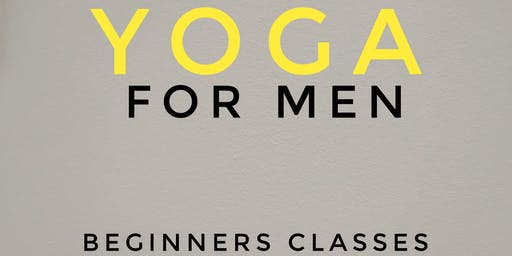 Yoga for MEN - 5 Week Beginners Course