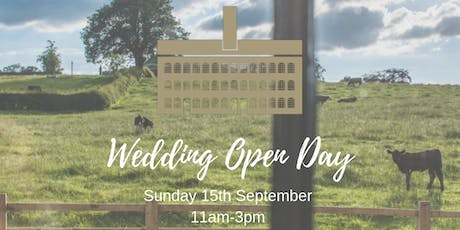 September - Wedding Open Day tickets