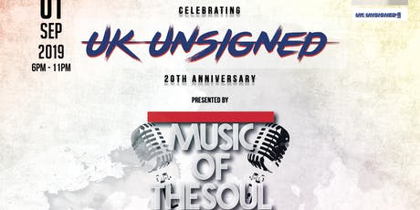 UK Unsigned x Music Of The Soul tickets