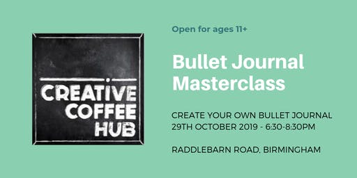 Birmingham Bullet Journal Masterclass