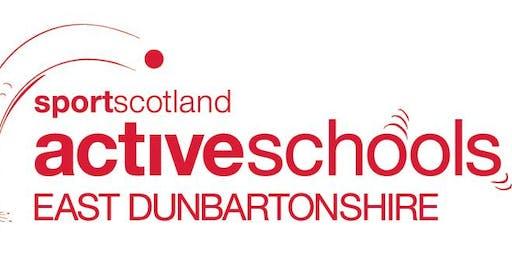 EDLC Active Schools Young Leader Programme £15 (14+) 2019