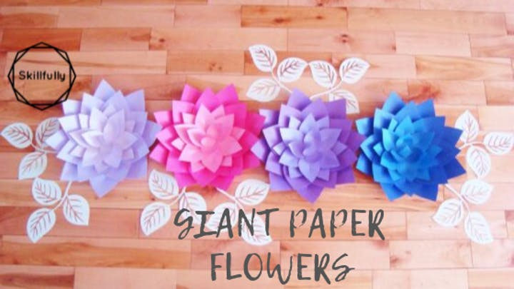 Copy of Giant Paper Flowers Toronto Session 2