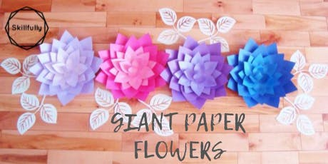 Giant Paper Flowers Toronto Session 2 tickets