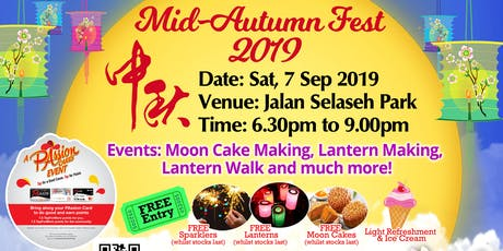 Mid-Autumn Festival 2019 tickets