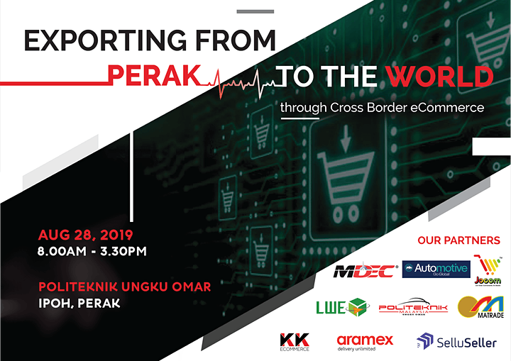 Exporting From Perak to the World through Cross Border eCommerce image