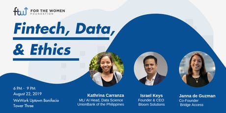 Fintech, Data and Ethics tickets