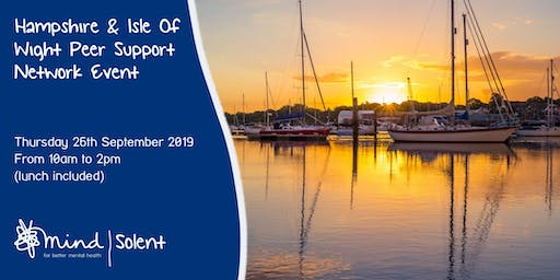 Hampshire and Isle of Wight Peer Support Network Event