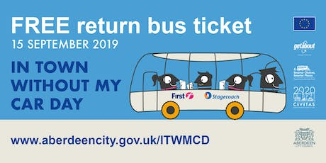 In Town Without My Car Day event  15 September 2019 tickets