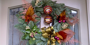 P&P Christmas Door Wreaths 2019