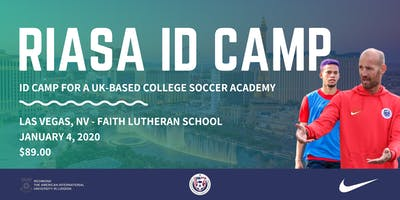RIASA ID Camp - Las Vegas, NV | UK College Soccer Academy