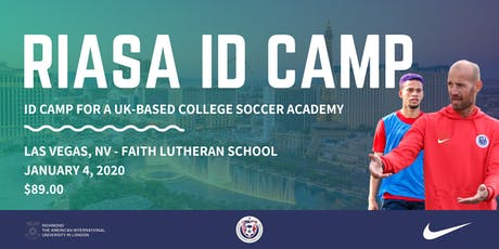RIASA ID Camp - Las Vegas, NV | UK College Soccer Academy tickets
